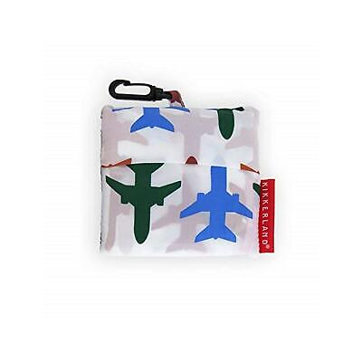 Kikkerland Airplane Design Travel Size Laundry Bag Quirky Washing Bag Pouch Gift