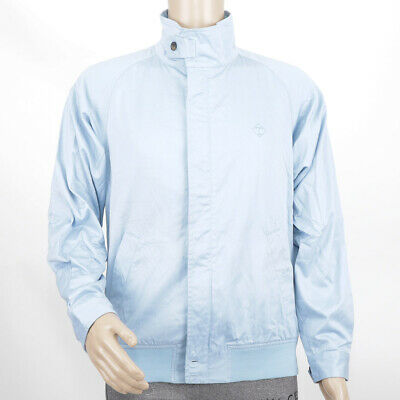 Mens Tootal Carstairs Full Zip Canvas Light Sky Blue Jacket (LSJ1) RRP £79.99