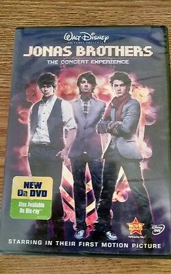 Jonas Brothers:The Concert Experience ~ DVD 2009 (BN)