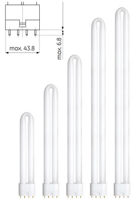 Osram Dulux L - 4-Pin Long CFL (2G11) - Wattages: 18w 24w 34w 36w 40w 55w 80w