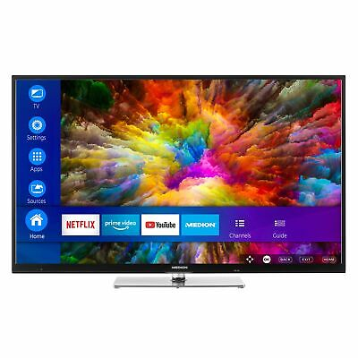 "MEDION X14908 Fernseher 123,2cm/49"" Zoll 4K UHD Smart TV HDR Dolby Vision A+"