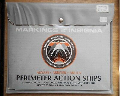 Star Trek - Perimeter Action Ships Blueprint Set - 2 x Colour Posters in Pouch