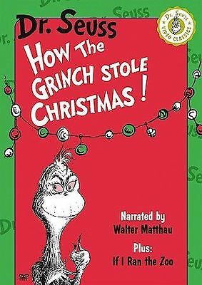 Dr. Seuss: How the Grinch Stole Christmas (DVD, 2002) Usually ships in 12 hrs!!!