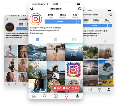 Instagram Starter Account - 5.000 Fo  ows Account
