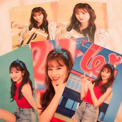 Twice Wake Me Up High Five Event Official Photocard 9 Set Punched