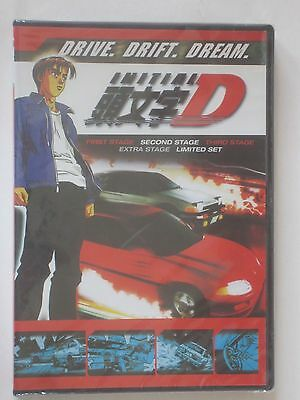 New Initial D First Second Third Extra Stage 6-DVD Anime Series Movie 1 2 3