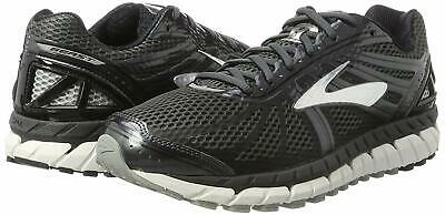 0ce528fa3b869 Brooks Mens Beast  16 Running Shoes Anthracite Black Silver Size 15.0M