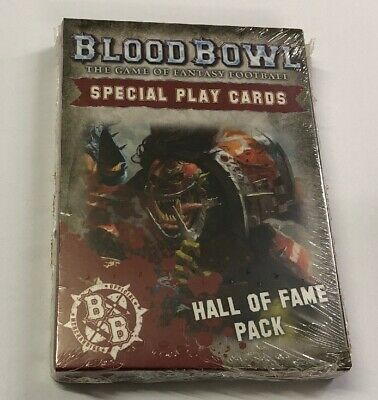 Warhammer Blood Bowl Hall of Fame Special Play Card Pack English
