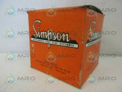 Simpson M-10486-1 Gauge 0-60 *New In Box*