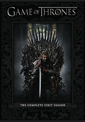 Game of Thrones: The Complete First Season (DVD,2012)
