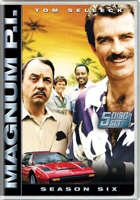 Magnum P.I.: The Complete Sixth Season (DVD,2007)