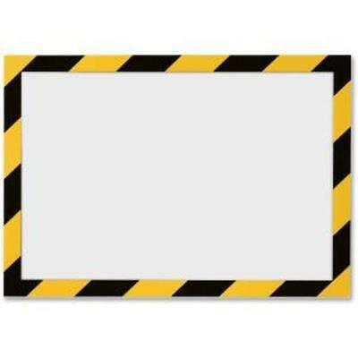 Durable Twin-color Border Self-adhs Security Frame (dbl-4770130) (dbl4770130)