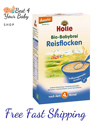 HOLLE Rice 100% Organic Bio Porridge Cereal 250g