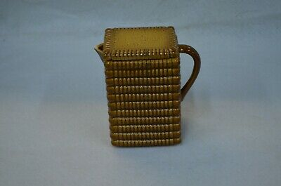 Antiq Vintage Marque Deposee Generale Biscuit French Bistro Cafe Pottery Pitcher
