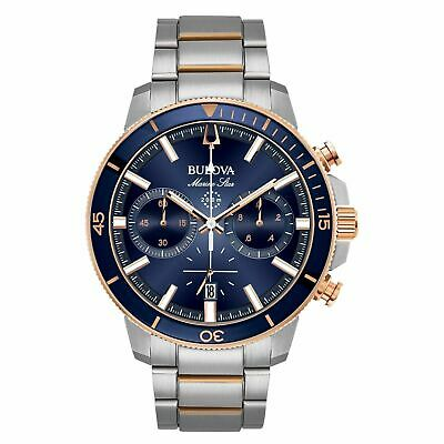 Brand New Bulova Mens Chronograph Stainless Steel Watch 98B301