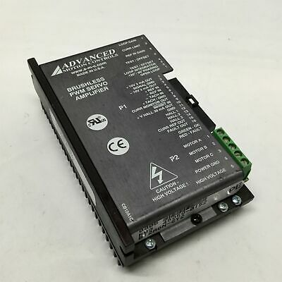 Advanced Motion Controls B12A6N Brushless Servo Motor Drive Amplifier, 20-60VDC