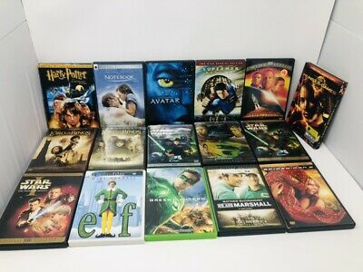 16 Dvd Movie Bundle Untested - GREAT TITLES! Free Shipping