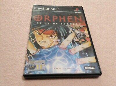 Orphen Scion Of Sorcery Play Station 2 Playstation 2 Ps2 Pal España