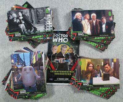 Doctor Who : Extraterrestrial Encounters 100 card base set - Topps trading cards