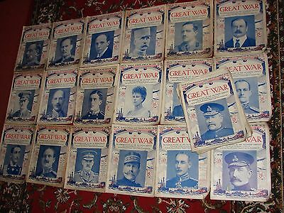 28 The Great War Magazines WW1 1914-18