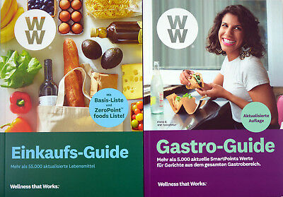 Weight Watchers Einkaufs-Guide + Gastro Guide 2019 *mit ZeroPoint Foods*