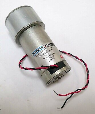 PITTMAN GM9236S020-R1 BRUSH COMMUTATED DC GEARMOTOR 19:7:1 RATIO 24 Vdc TESTED
