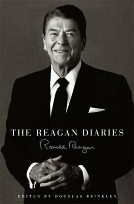 The Reagan Diaries [Full leather in leather slipcase] By Ronald Reagan