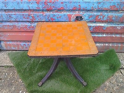 upcycled chess board table