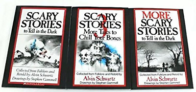 Scary Stories to Tell in the Dark Series: More to in Dark; to in 3 (Book sets fo