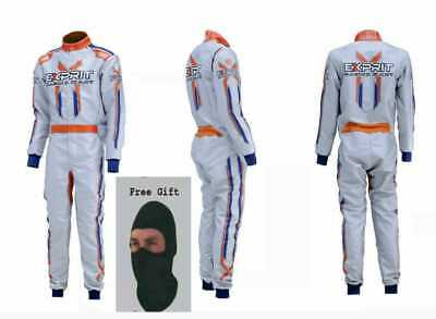 Exprit Printed Go Kart Race Suit CIK FIA Level 2 Approved with free gift