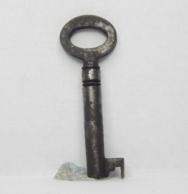 Antique Victorian cabinet Key 1.75 inch  Gothic box Caddy  drawer aj