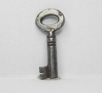 Antique Victorian cabinet Key 1.5 inch  Gothic box Caddy  drawer aq