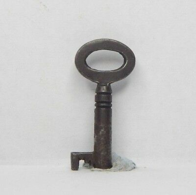 Antique Victorian cabinet Key 1.25 inch Gothic box Caddy  drawer as