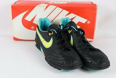 6e17a95a38480 VINTAGE 80S NEW Nike Mens 8.5 Hotspur Leather Soccer Cleats Shoes ...