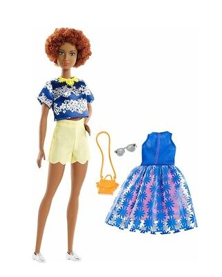 NEW 2018 MATTEL BARBIE Fashionistas Doll AA AFRICAN CLOTHES FASHION PACK SET