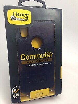 OtterBox Commuter Shockproof Hard Shell Snap Cover Case For iPhone X & iPhone Xs