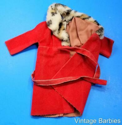 RARE Sears Barbie Doll #1510 Glamour Group Red Coat TLC ~ Vintage 1960's