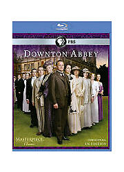 Masterpiece: Downton Abbey - Season 1 (Blu-ray, 2-Disc) - **DISCS ONLY**