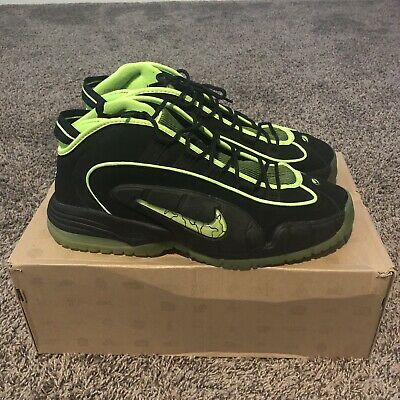 9a3bb2e227 AIR MAX PENNY 05 HOH Electric Green Black Nike 1 2 I House of Hoops ...