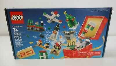 LEGO 40222 Special Edition 2016 CHRISTMAS BUILD UP Holiday 24 in 1 Building Toy