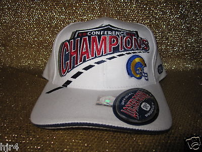 buy popular fd81d 920f5 St. Louis Rams 1999 NFC Conference Champions Hat cap NEW
