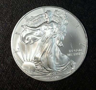 2009 American Silver Eagle 1 Ounce .999 Fine Brilliant Uncirculated☆☆☆
