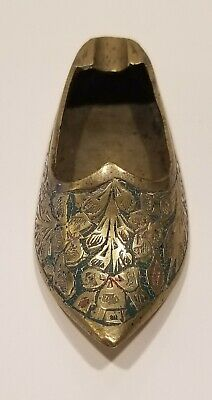 Vintage Handcrafted Solid Brass Perfume Tray Decorative Crafts Inc