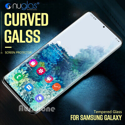 Galaxy S10 S10 Plus S10e NUGLAS 3D Tempered Glass Full Screen Protector Samsung