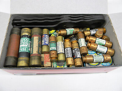 Old Home Fuse Lot with Puller