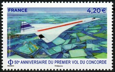 Concorde Air France 50Th Anniversary Of First Flight 2019 Mnh