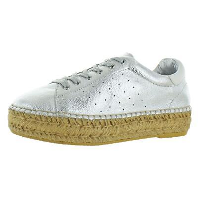 1a17a52f75c Steven By Steve Madden Womens Pace Silver Fashion Sneakers 10 Medium (B