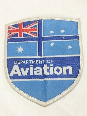 Australia 1982 - 1987 Department Of Aviation Badge Patch