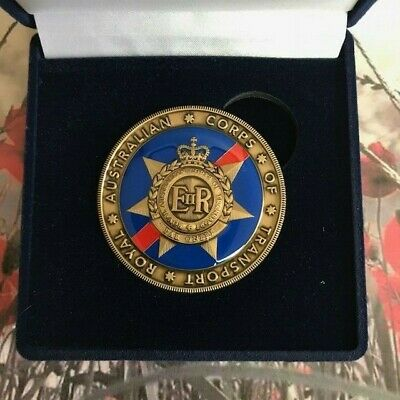 Challenge Coin - Royal Australian Corps of Transport - Australian Army