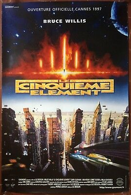 Affiche officielle Festival Cannes CINQUIEME ELEMENT Fifth Element LUC BESSON *